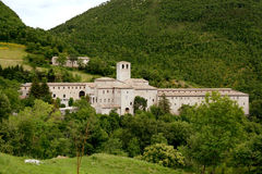 Fonte Avellana Monastery, Marche, Italy Royalty Free Stock Photo