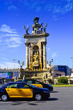 Fonte Barcelona, Catalonia, Spain Fotografia de Stock