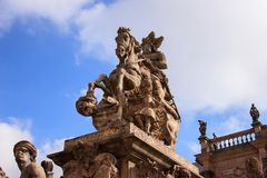 Fonte Bayreuth do Margrave Foto de Stock Royalty Free