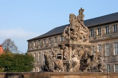 Fonte Bayreuth do Margrave Imagem de Stock