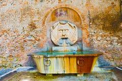 Fonte bebendo em Roma, Itália Fotografia de Stock