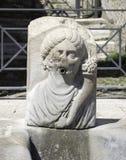 A fonte da abundância em Pompeii, Itália Fotos de Stock