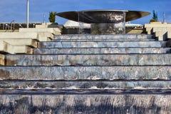 Fonte da bacia no parque olímpico Foto de Stock Royalty Free