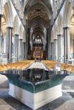 Fonte da catedral de Salisbúria imagens de stock royalty free