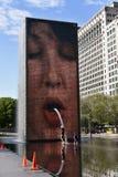 Fonte da coroa de Chicago Imagem de Stock