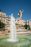 Fonte da federação em Toulon Fotografia de Stock Royalty Free