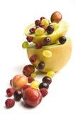 Fonte da fruta Fotografia de Stock