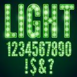 Fonte da lâmpada Imagens de Stock