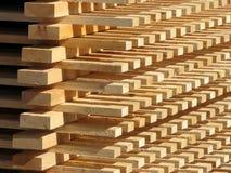 Fonte da madeira Imagem de Stock Royalty Free