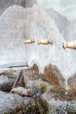 Fonte da vila de Enix, em Almeria, Espanha Imagens de Stock Royalty Free