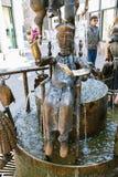 Fonte das bonecas na rua de Kramerstrasse em Aix-la-Chapelle Imagem de Stock