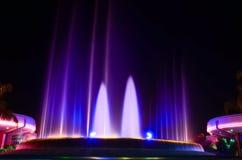 Fonte de água da música em Epcot Imagens de Stock Royalty Free