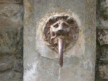 Fonte de água em França Imagem de Stock Royalty Free