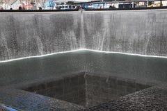 Fonte de 911 memoriais Foto de Stock Royalty Free