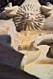 Fonte de Barcaccia em Praça di Spagna em Roma foto de stock