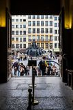 Fonte de Bartoldi em Lyon imagens de stock