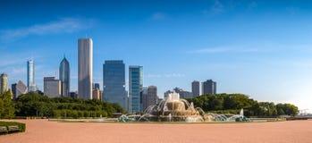 Fonte de Buckingham, Chicago Foto de Stock Royalty Free
