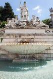 Fonte de Dea Roma Fotos de Stock