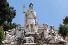 Fonte de Dea Roma Foto de Stock