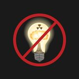 Fonte de energia perigosa Imagem de Stock