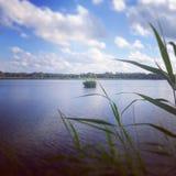 Fonte de lac Photo libre de droits