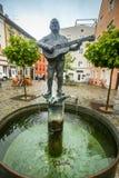 Fonte de Roider Jackl em Freising foto de stock