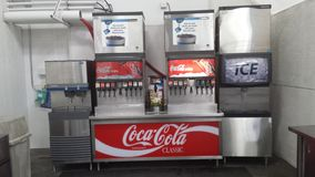 Fonte de soda Foto de Stock