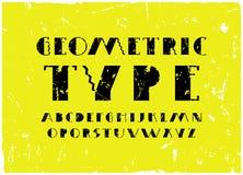 Fonte decorativa di caratteri sans serif royalty illustrazione gratis