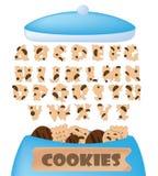 Fonte dei biscotti Fotografia Stock