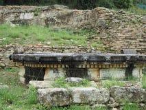 Fonte di Nymphaion - Olimpia antico Fotografie Stock