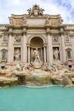 Fonte di Trevi em Roma fotografia de stock