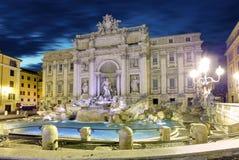 Fonte di Trevi, Roma, Itália Fotografia de Stock Royalty Free