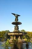Fonte do anjo em Central Park Imagem de Stock Royalty Free