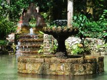 Fonte do jardim Foto de Stock Royalty Free