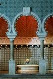 Fonte do Moorish imagem de stock royalty free