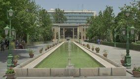 Fonte do palácio de Golestan video estoque
