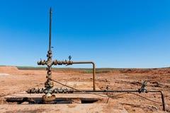 Fonte do petróleo fotos de stock