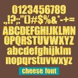 Fonte do queijo Imagens de Stock