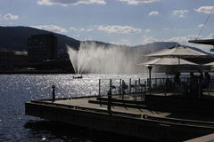 Fonte do rio em Drammen Imagem de Stock
