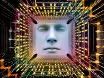 Fonte do ser humano super AI Fotografia de Stock Royalty Free