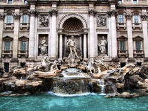 Fonte do Trevi Fotos de Stock Royalty Free