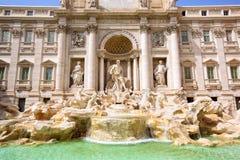 Fonte do Trevi em Roma Foto de Stock Royalty Free
