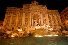 Fonte do Trevi em Roma. Fotos de Stock