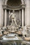 Fonte do Trevi em Roma. Fotografia de Stock Royalty Free