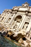 Fonte do Trevi em Roma Foto de Stock Royalty Free
