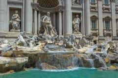 Fonte do Trevi, Roma, Italia Foto de Stock Royalty Free