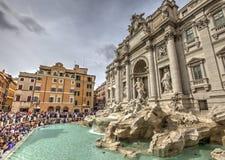 Fonte do Trevi, Roma, Italia Imagens de Stock