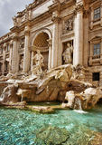 Fonte do Trevi, Roma Italy Imagem de Stock Royalty Free