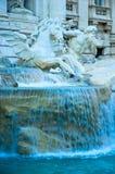 Fonte do Trevi, Roma, italy Imagem de Stock
