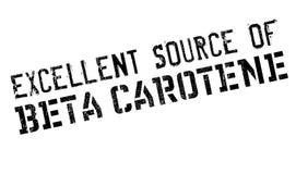 Fonte eccellente di bollo del beta-carotene Immagine Stock